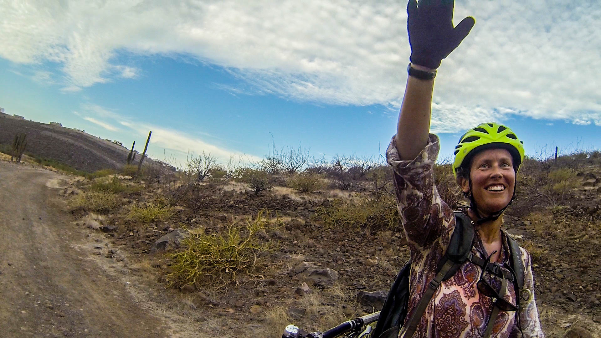 Always good to survive a ride in the desert. La Paz has some REALLY fun mountain biking!