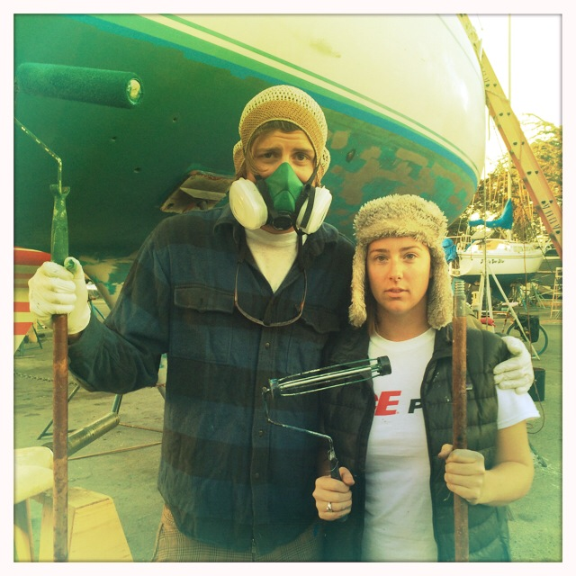 The new American Boatyard Gothic. Any task can be made fun with the help of fun people.