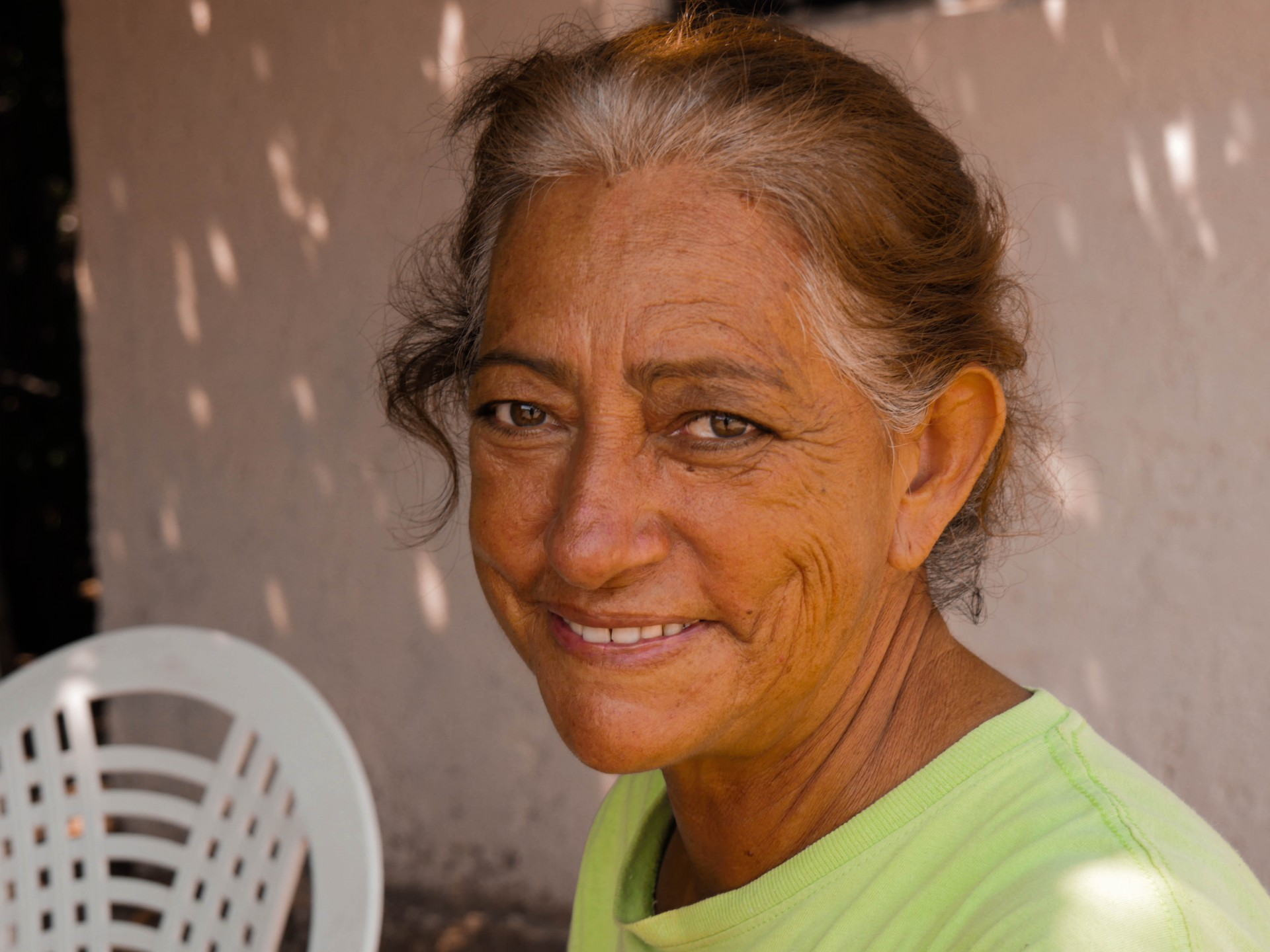 Maria, another woman I was fortunate to interview in Agua Verde.