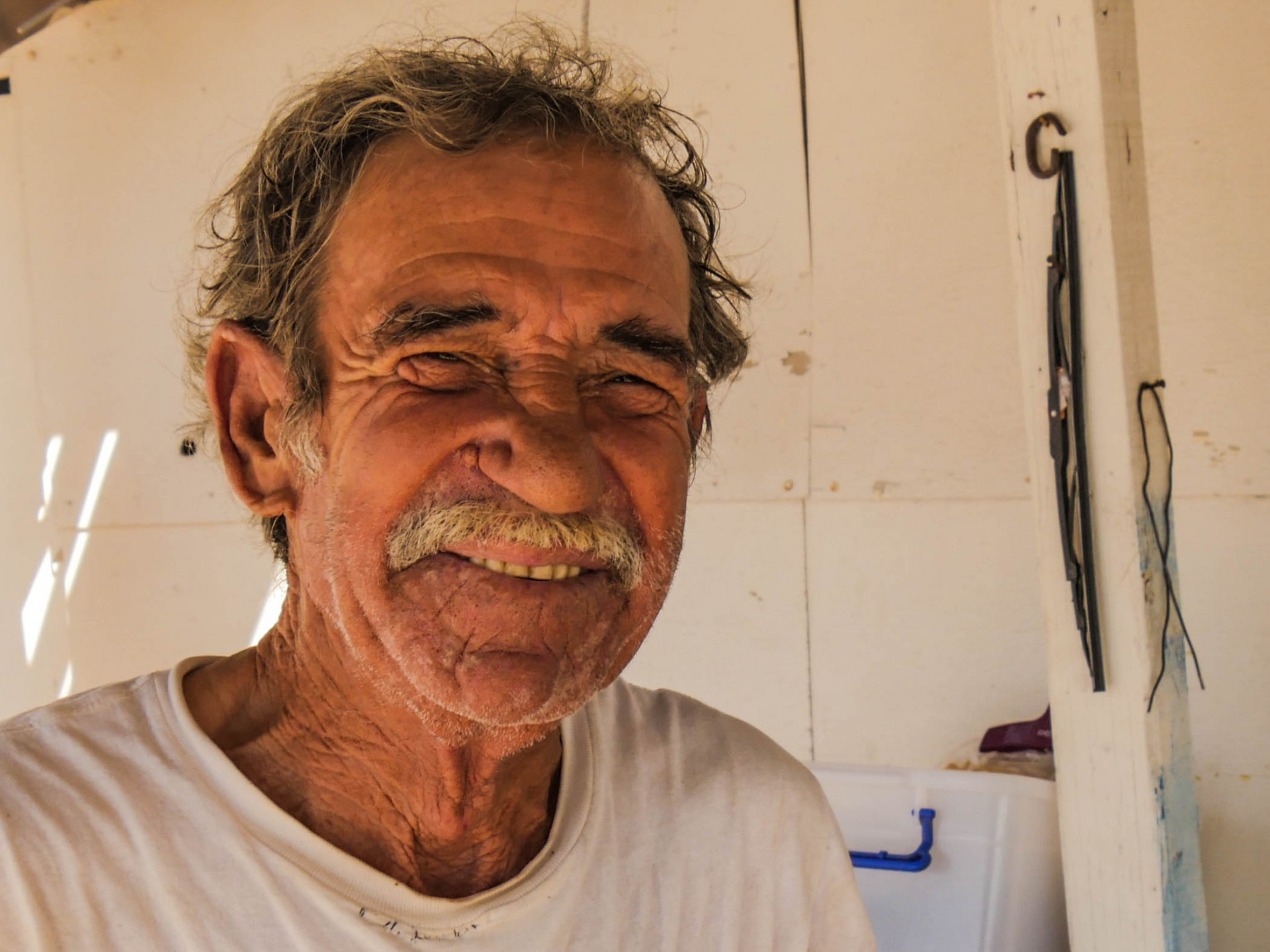It can be tough to get men to smile for the camera in Mexico, but José was pretty jovial.