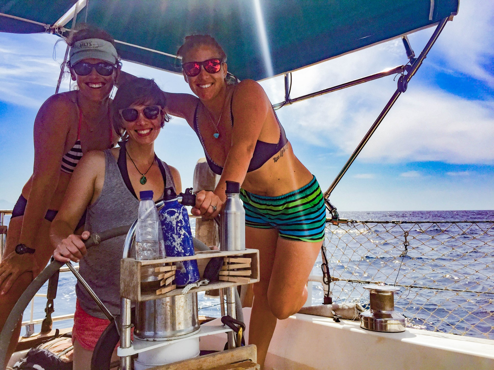 Ladies at the helm.